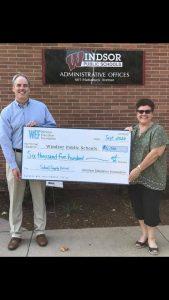 windsor education foundation donation